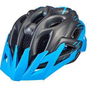 KED Status Helm Kinderen, black/blue matte